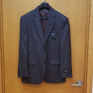 Kenneth Cole NWT Brown Cocoa Wool Blazer 42R Slim